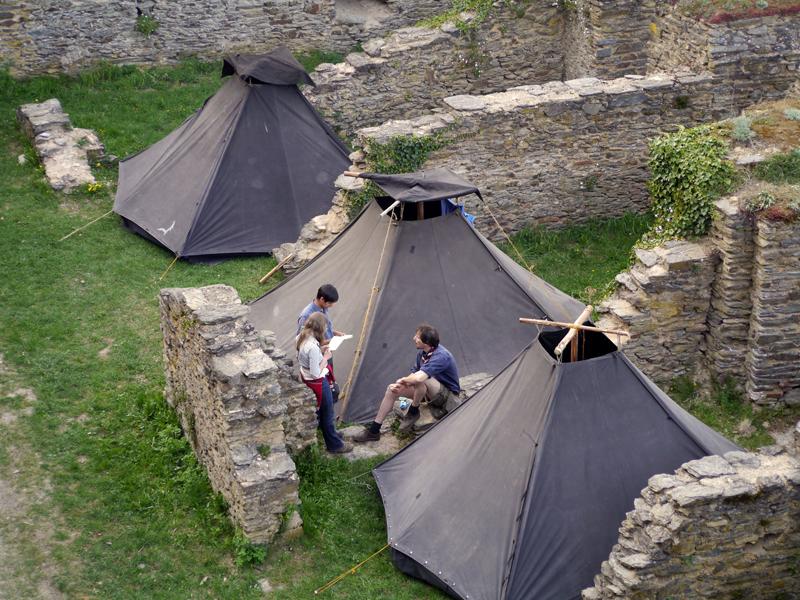 Kohten auf Burg Rheinfels, Rheinischer Singewettstreit 2015, Foto: Karin Stoverock