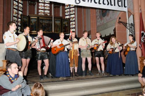 Singkreis auf dem Rheinischer Singewettstreit 2012, Foto: Andreas Winkelmann