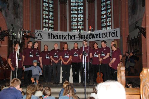 Rheinischer Singewettstreit 2010, Foto: Benno Kesting