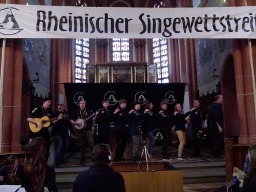 Rheinischer Singewettstreit, Bund der Pfadfinderinnen und Pfadfinder, Landesverband NRW, Nebelkrähen, (c) Karin Stoverock