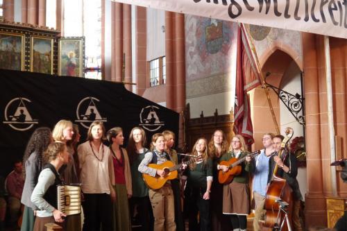 Rheinischer Singewettstreit in St. Goar 2015, Laninger Wandervogel, Foto: Karin Stoverock